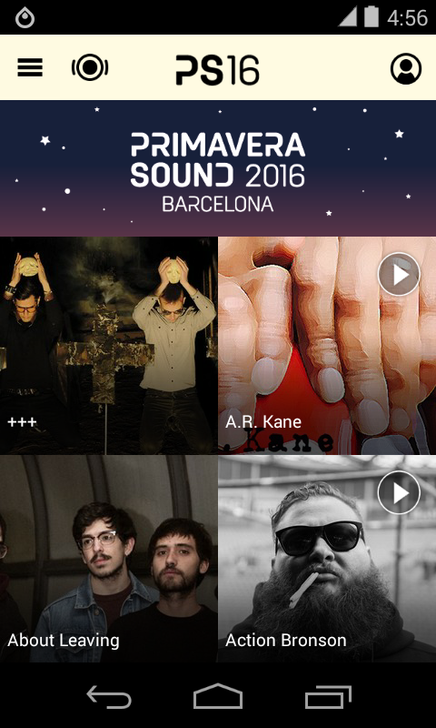 Primavera Sound- screenshot