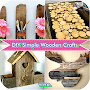 DIY Simple Wood Crafts Project APK icon