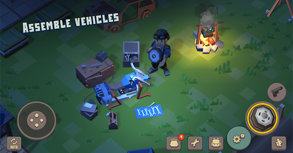 Cube Survival Story 1.0.3 Mod Apk [Unlimited Coins] 2