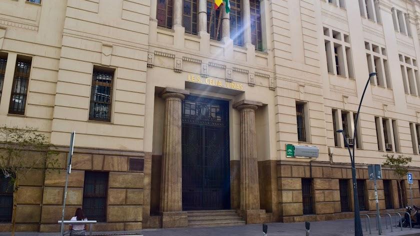 El Instituto Celia Viñas de Almería.