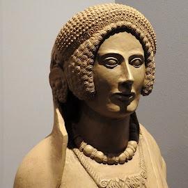 antica statua romana del V sec. A.C. by Patrizia Emiliani - Artistic Objects Antiques ( romana, antico, statua, v sec. a. c,  )