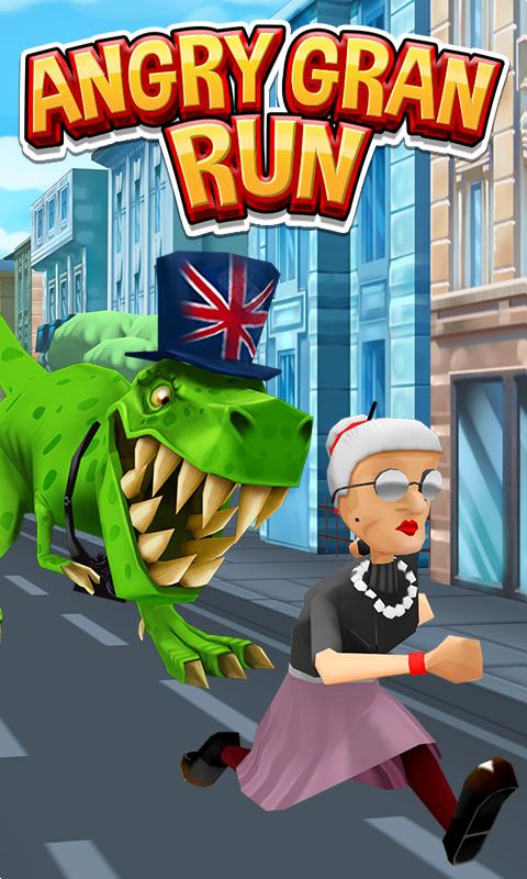 Angry Gran Run - Running Game - screenshot