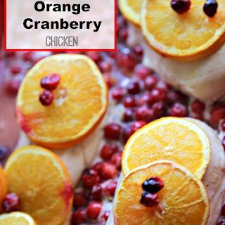 Cranberry Orange Juice Chicken