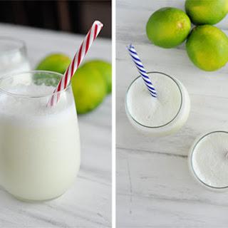 Brazilian Lemonade {Or In Other Words 2-minute Blender Limeade}.