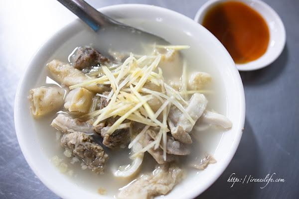 嘉義美食,在地人的東市場早餐,熱氣沸騰的大鍋牛雜(加映袁家筒仔米糕排骨酥).王家祖傳本產牛雜湯