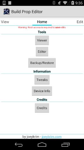 Build Prop Editor