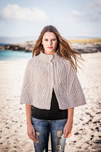 Photo: Aran Diamond and Trellis Cape -  This simple but beautiful cape features a combination of the ancient Diamond and Trellis stitch. Both stitches were thought to represent the small fields of the Aran Islands, and were used to symbolise luck to the Farmers who laboured over them. The cape is made of 100% soft Merino Wool and comes in a natural beige colour  www.aransweatermarket.com/merino-trellis-diamond-cape