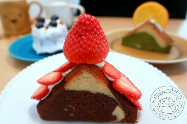 行天宮甜點 【Look Luke】 抹茶小山磅蛋糕超可愛 行天宮人氣甜點