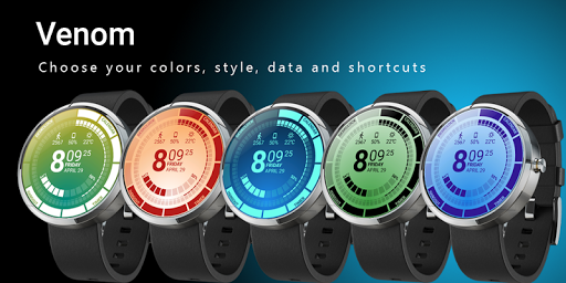 Venom Watch Face 1.2.22.130 screenshots 2