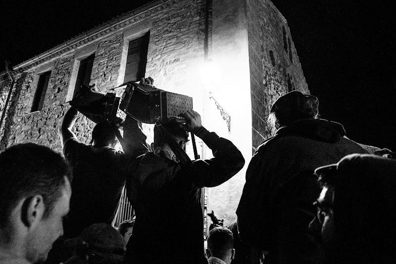 Musica popolare al termine dei festeggiamenti della Pita, Alessandria del Carretto (CS) di marzio