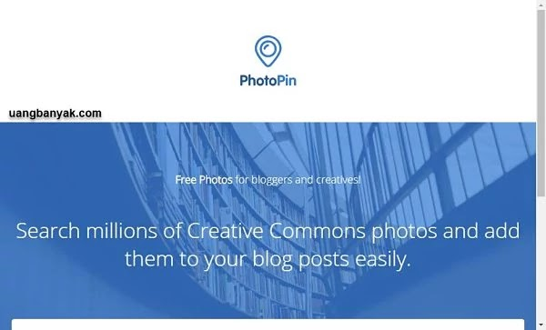 penyedia gambar gratis photo pin untuk keperluan blogging