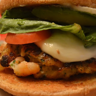 #FishFridayFoodies ~ Chunky Shrimp Burgers