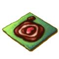 こぼしたチョコ道クッキー