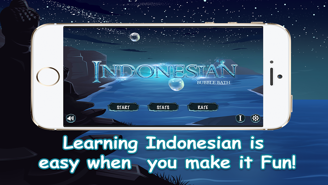 Learn Indonesian Bubble Bath- screenshot