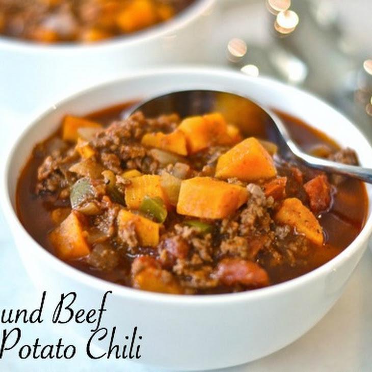 Ground Beef Sweet Potato Chili – Paleo