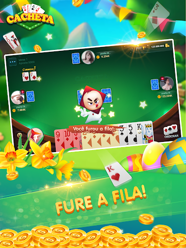Cacheta - Pife - Pif Paf - ZingPlay Jogo online screenshots 14