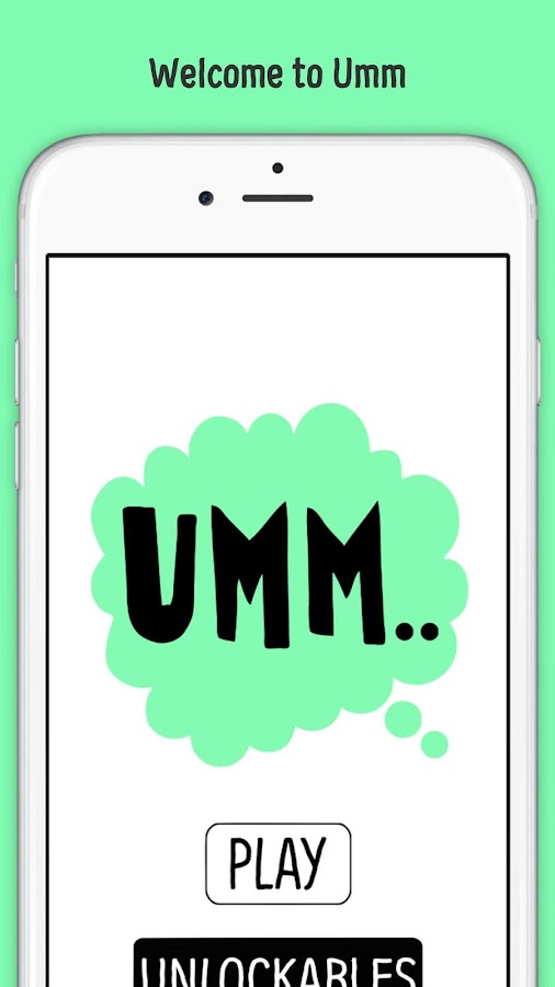 Umm: The Word Game- screenshot