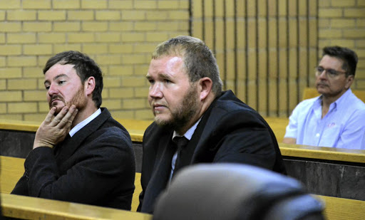 Pieter Dooreward and Phillip Schutte were found guilty of killing teenager Matlhomola Mosweu.