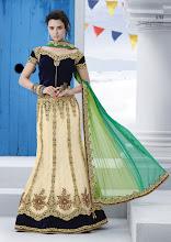 Photo: CODE: 6714 3 PCS Designer Lehenga Saree . Price : USD 95