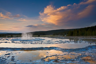 Photo: Fountain Geyser, Yellowstone National Park, WY#landscapephotography  #photographytips  #photographyworkflow BEST VIEWED LARGEI love the Firehole Lake Drive in Yellowstone....The geysers and geothermal activities in the area offer plenty of photographic opportunity but this location is also free of mountains and hills and offer wide ranging vistas like the one you see here.How was this image created?This image was created using a single GND filter to balance the light between the sky and ground. It is a single exposure image, but I needed to make targeted adjustments to the highlight and shadows to be able to see the details in them. This is a pretty simple photograph to take as the light was very well balance - Sometimes you go get lucky and everything falls in place.Question: What composition rules did I use and which ones I broke? :))Enjoy & Share._______