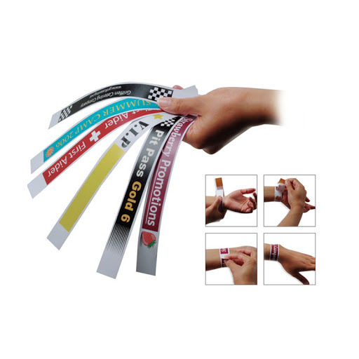 Budget Printed Wristbands
