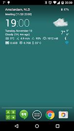 Transparent clock & weather Screenshot 11