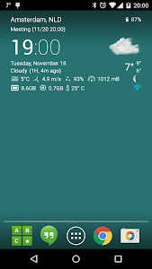 Transparent clock & weather screenshot 10