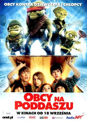 Przód ulotki filmu 'Obcy Na Poddaszu'