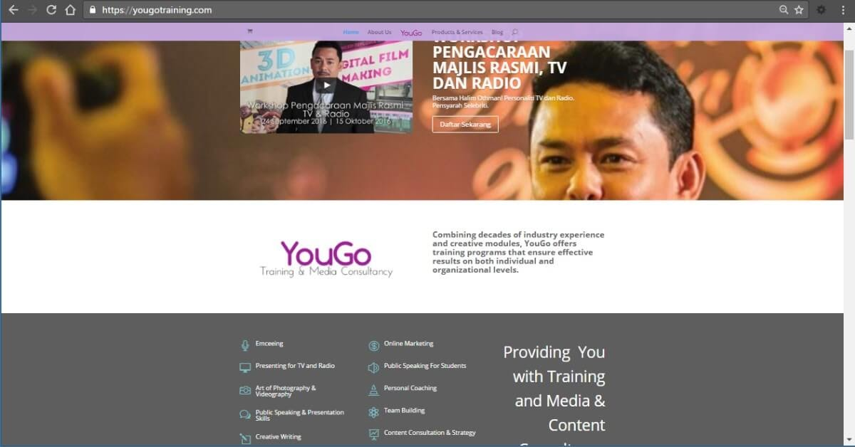 Corporate Website - YouGo Training