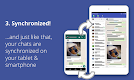 screenshot of Tablet Messenger