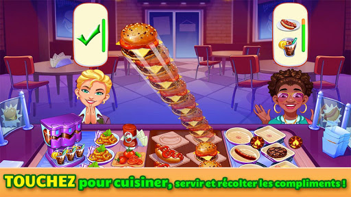 Cooking Craze: Jeu de cuisine et restaurant  captures d'u00e9cran 1