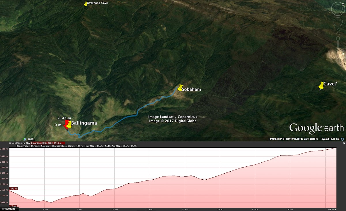 Indonesia. Papua Baliem Valley Trekking. Day 7 Graph - Beligama to Sobaham