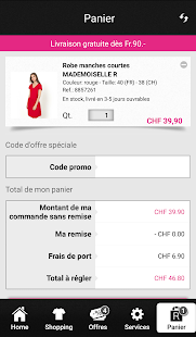 La Redoute CH- screenshot thumbnail