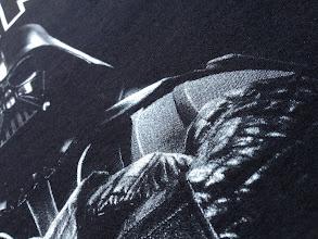 Photo: T-shirt personnalisé : Sérigraphie en Blanc de soutien + Gris + Blanc de réhaut / teeshitrmania