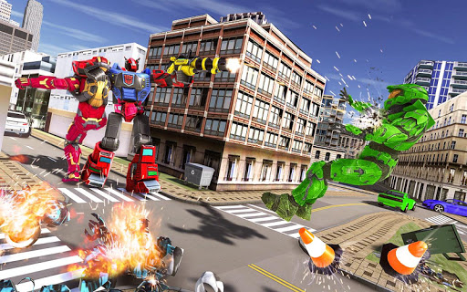 Tank Robot Car Game 2020 u2013 Robot Dinosaur Games 3d 1.0.5 screenshots 4