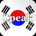 Speak Korean Free icon