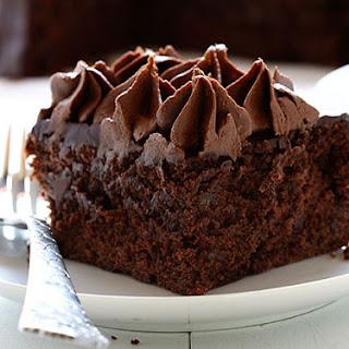 Zucchini Double Chocolate Cake.