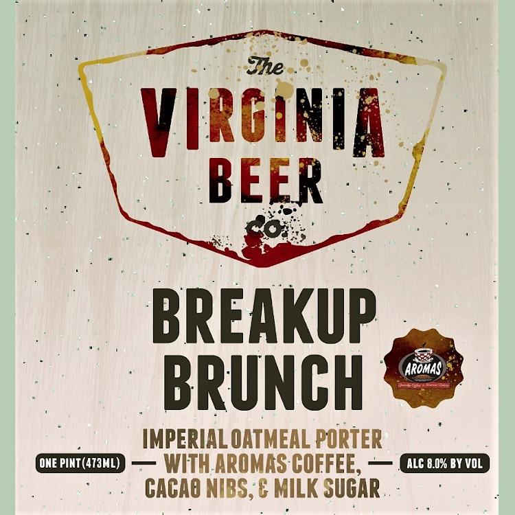 Logo of Virginia Beer Co. Breakup Brunch
