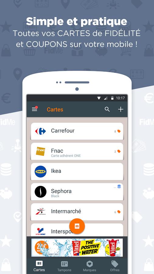 Application google store pour trouver des coupons de reductions
