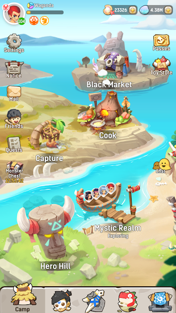 Ulala: Idle Adventure Android App Screenshot