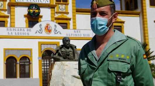"""Juan Francisco Meneses: """"La Legión estaba ansiosa por ayudar"""""""