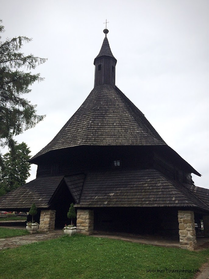 Wooden church, Tvrdosin, Slovakia