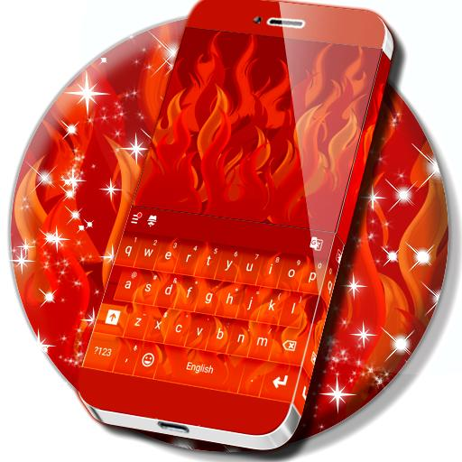 Flame Keyboard Theme
