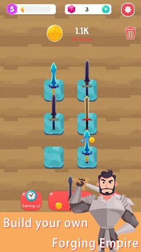 Merge Sword - Idle Blacksmith Master  screenshots 1