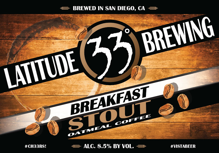 Logo of Latitude 33 Breakfast Stout