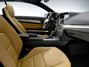 Photo: Natural Beige and Black E-Coupe interior appointment