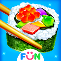 Cooking Sushi Maker - Chef Street Food Game icon