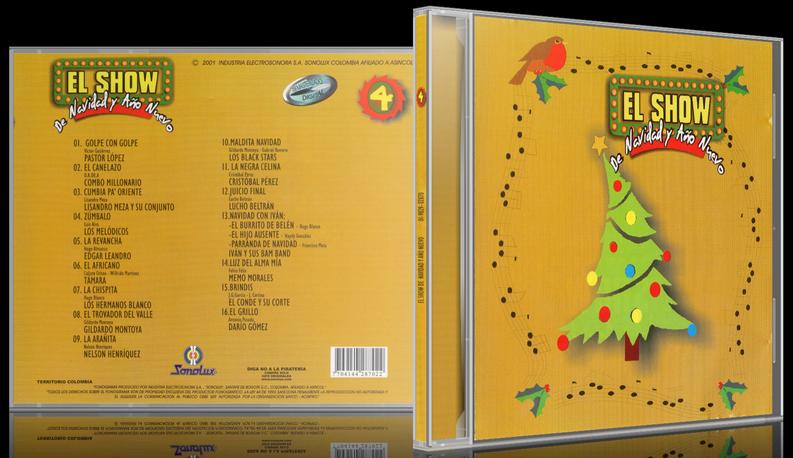 Varios Artistas - El Show De Navidad Y Año Nuevo 4 (2001) [MP3 @320 Kbps]