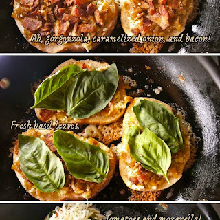 Bacon, Basil, and Tomato Grilled Cheese.