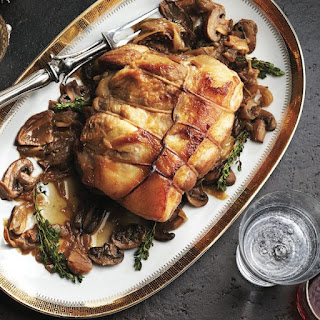 Pot-roasted Pork Shoulder With Mushrooms